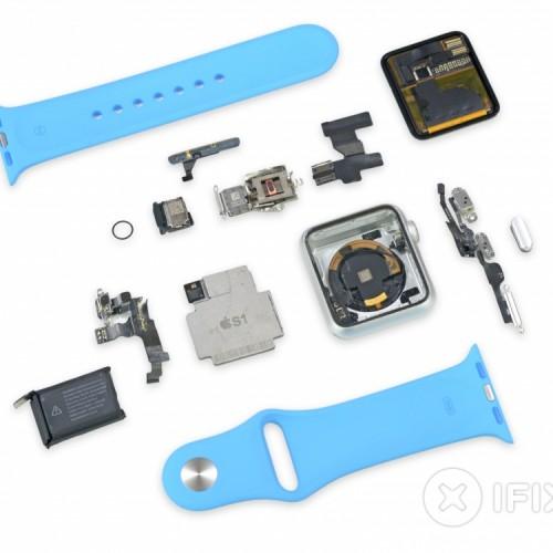 Destripando el Apple Watch