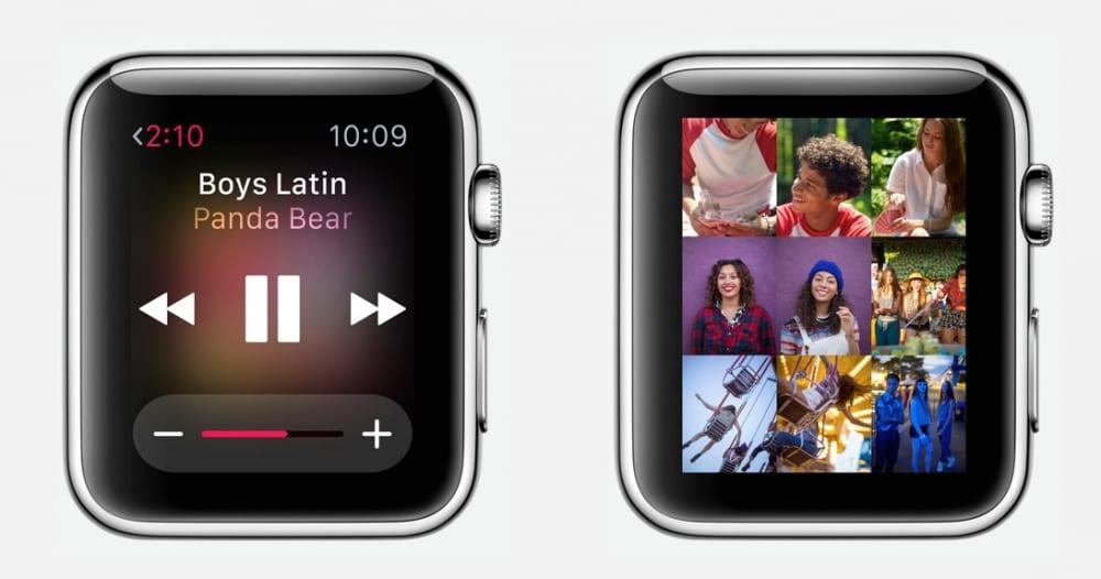 Musica en Apple Watch