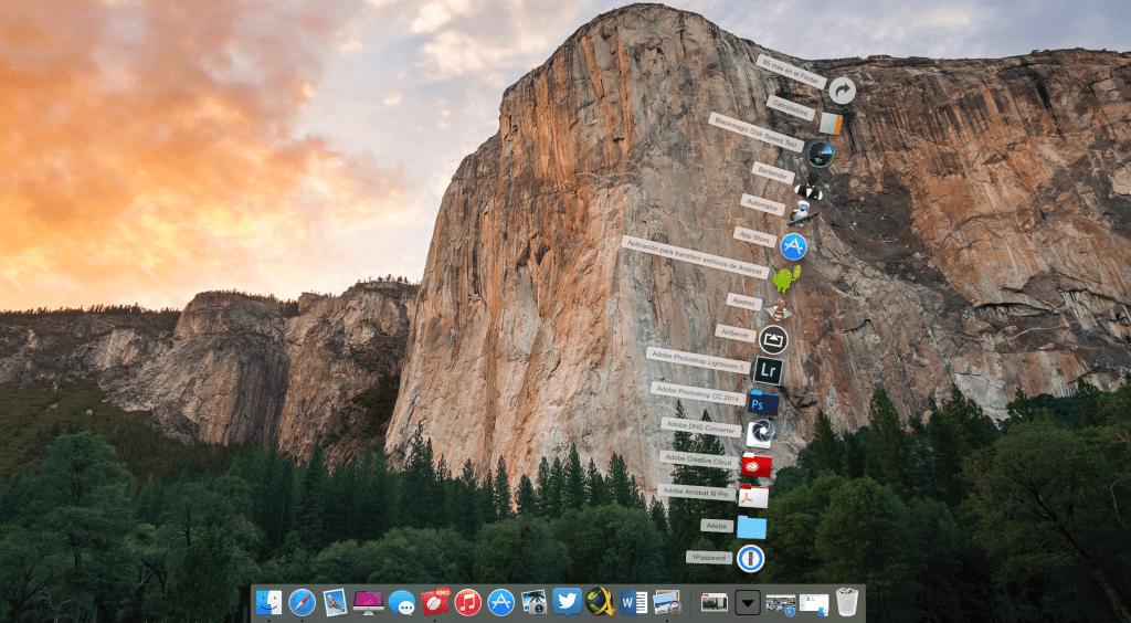 Cómo mostrar en el Dock de OS X solo las aplicaciones que están abiertas