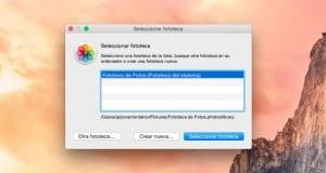 crear biblioteca photo mac