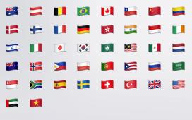 nuevas banderas emoji iOS 8.3