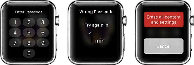 Apple Watch carece de seguridad anti robo