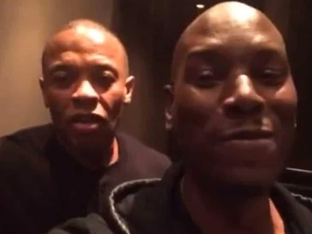 Dr. Dre y Tyrese