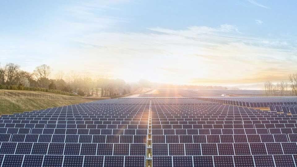 Granja de energía solar de Apple