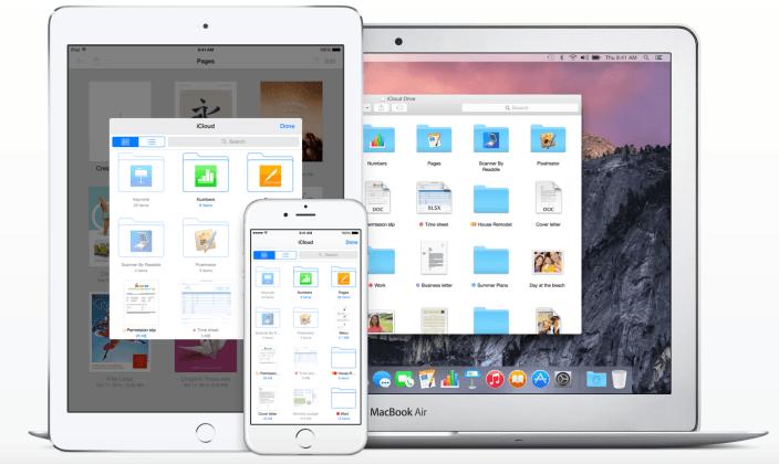 Mejoras en iCloud Drive también están previstas con la llegada de iOS 9 y OS X 10.11
