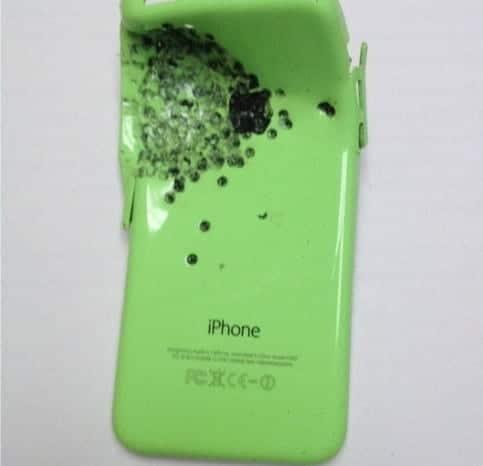 Salvado por un iPhone 5C