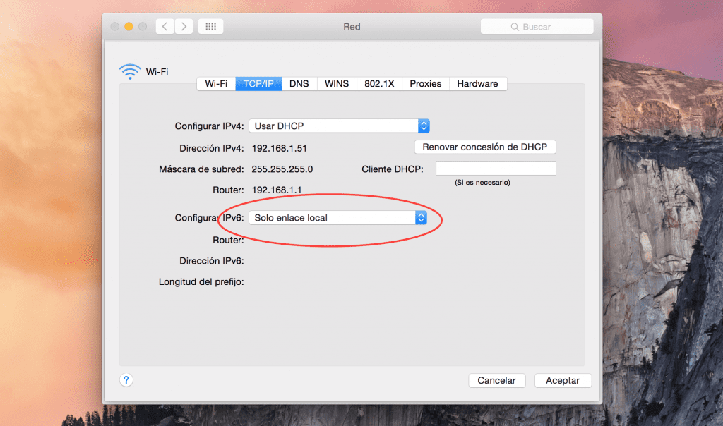 Evita problemas de conectividad WiFi en OS X Yosemite