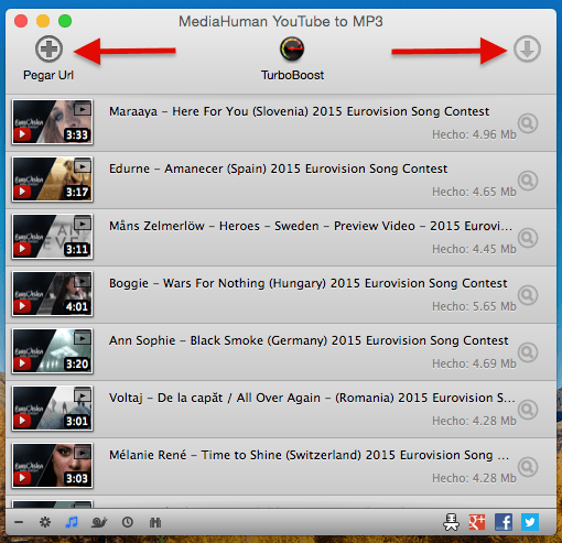 descargar listas de reproduccion de youtube mp3