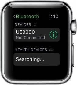 bluetooth para Apple Watch