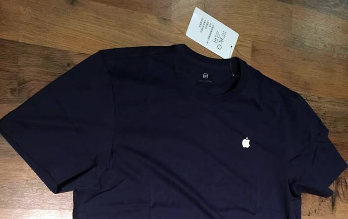 Camiseta nueva de Apple | Foto Macrumors.com