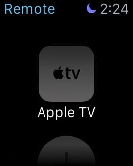 controlar apple tv con apple watch