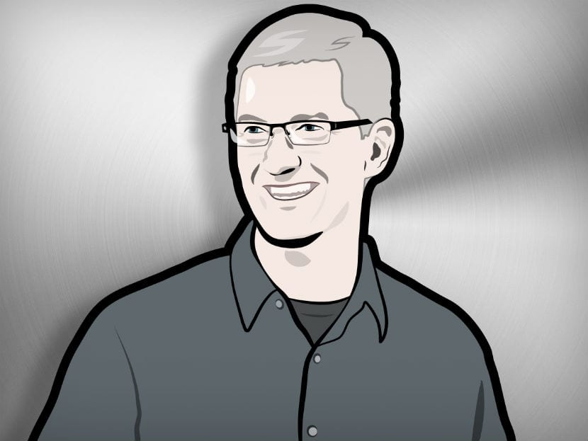 dibujo Tim Cook