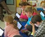 Alumnos de tercer grado de una escuela de Mineola utilizan el iPad en clase | IMAGEN Gail Robinson