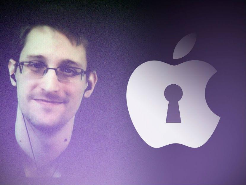 Edward Snowden apple