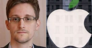 Edward Snowden logo apple