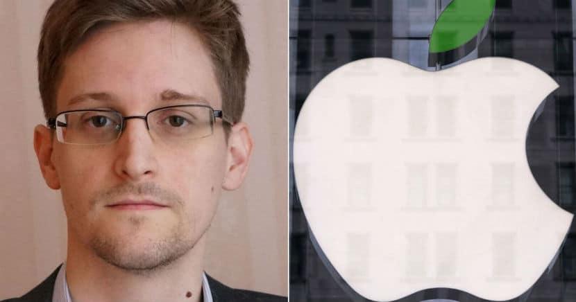 Edward Snowden logo apple