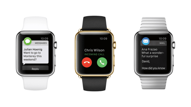 Notificaciones Apple Watch