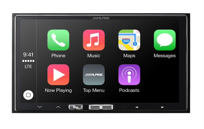 menu carplay pioneer