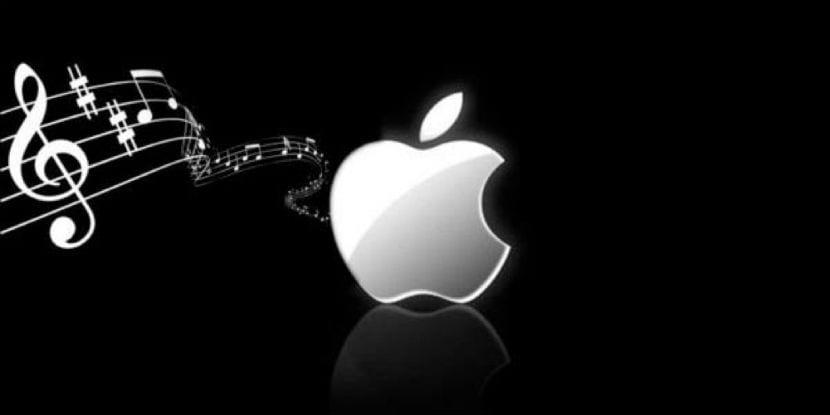 music apple logo