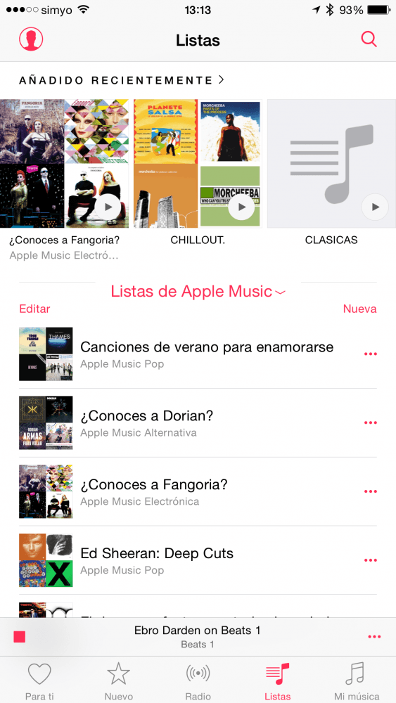 Apple Music Playlists 1