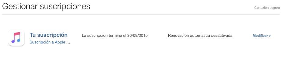 Cómo anular la renovación automática a Apple Music 2