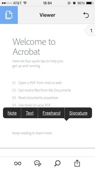 Como firmar documentos en tu iPhone y iPad 1