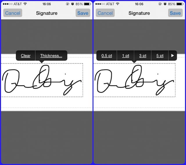 Como firmar documentos en tu iPhone y iPad 4