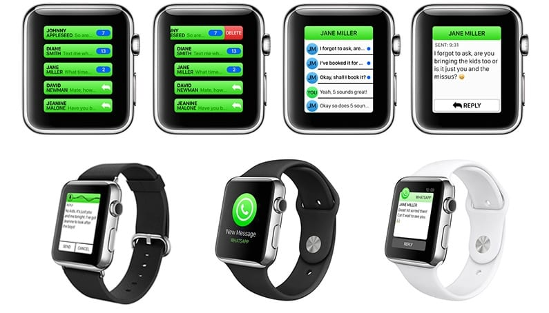 WhataApp Apple Watch