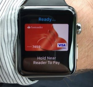 banco santander apple watch apple pay