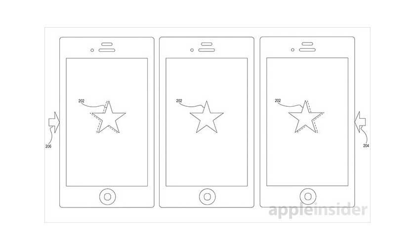 patente apple mover objetos pantalla