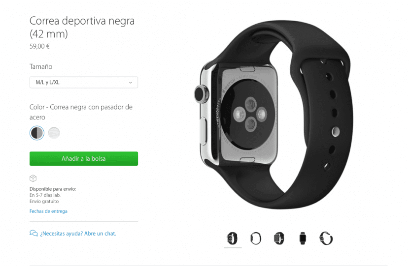 Apple Watch-correas-tamaño-0