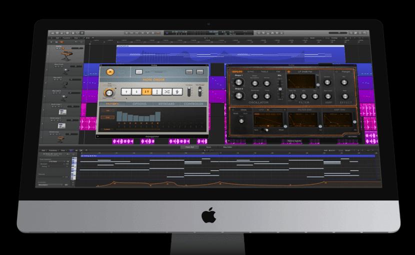 Apple actualiza Logic Pro X a su versión 10.2