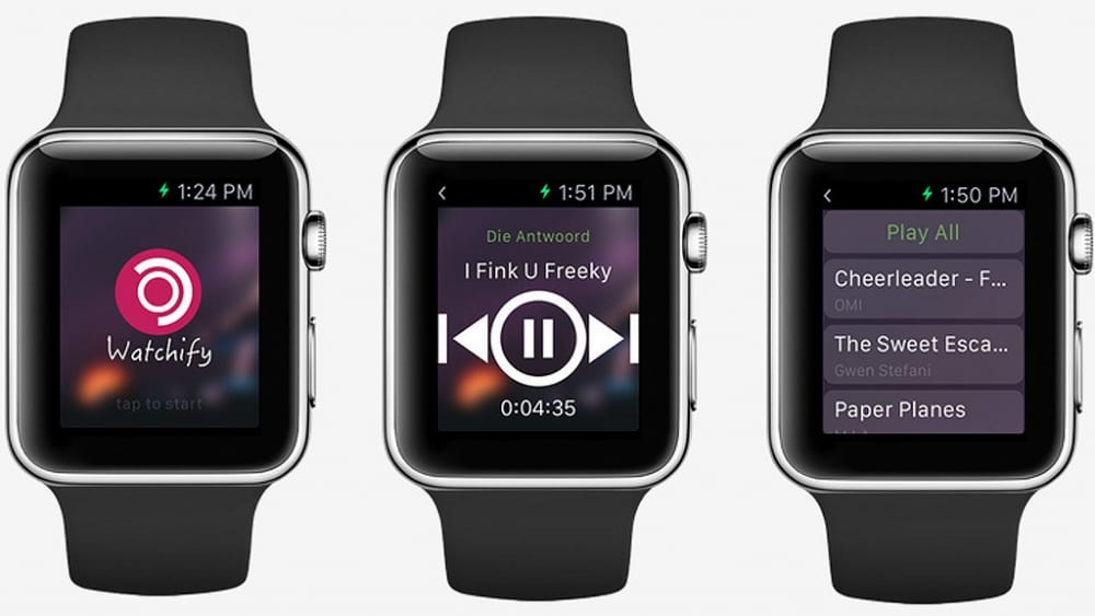 Spotify en WatchOS ya existe, no oficial y limitado Watchify3.png