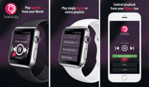 Spotify en WatchOS ya existe, no oficial y limitado Watchify