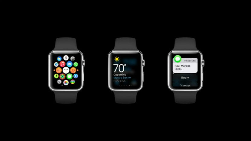 apple watch fondo negro