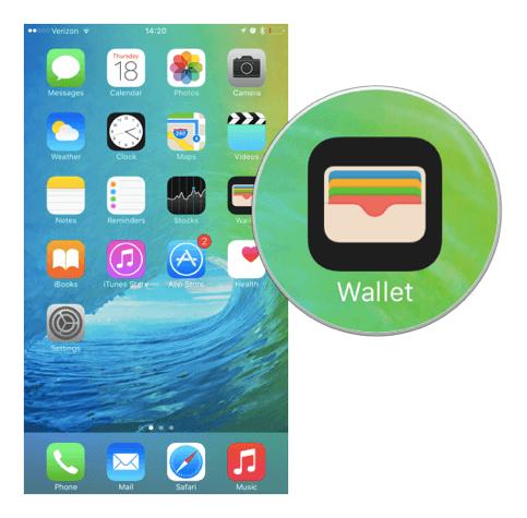 passbook wallet iOS 9