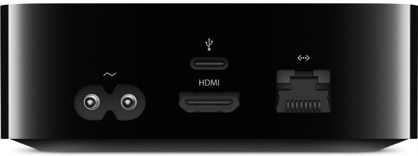 Apple TV 4 puertos