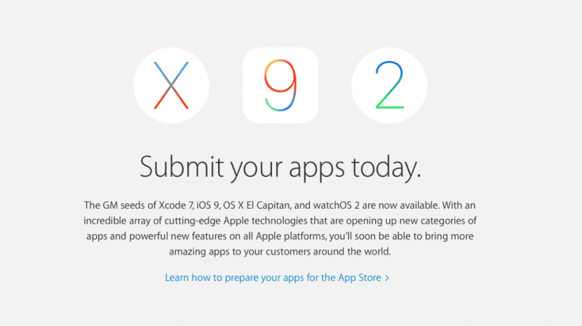 Apple aplicaciones- osx el capitan-ios 9-0