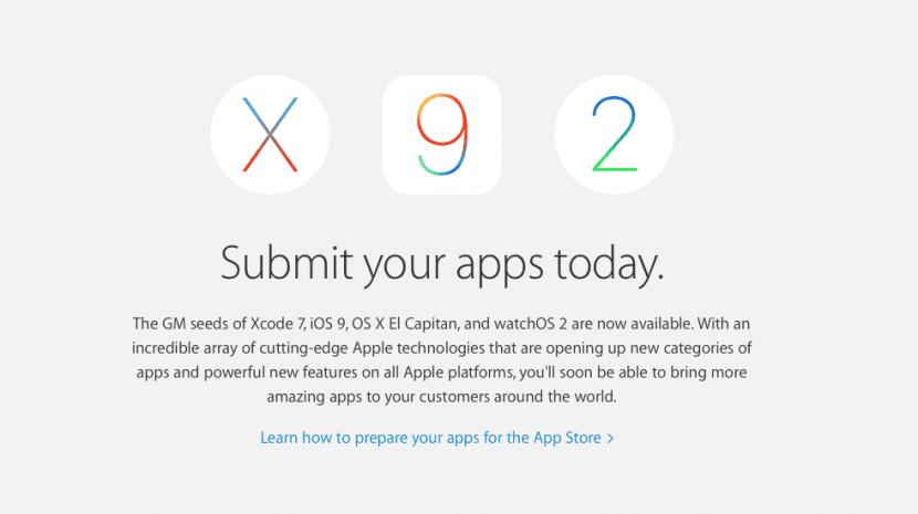 Apple aplicaciones- osx el capitan-ios 9-0