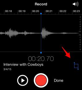 Cómo editar Notas de Voz en tu iPhone 2