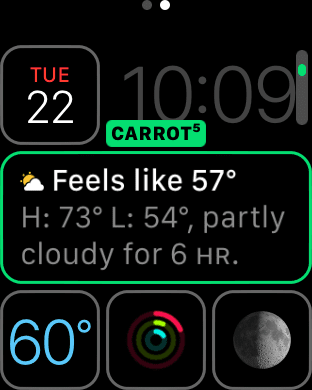 Carrot Weather