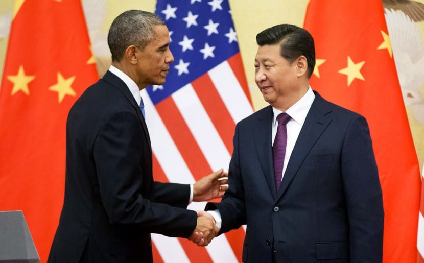--LEAD IMAGE-- FILE - In this Nov. 12, 2014 file photo, President Barack Obama shakes hands with  Chinese President Xi Jinping at the conclusion of their joint news conference at the Great Hall of the People in Beijing. Six countries produce nearly 60 percent of global carbon dioxide emissions. China and the United States combine for more than two-fifths. The planet's future will be shaped by what these top carbon polluters do about the heat-trapping gases blamed for global warming.  (AP Photo/Pablo Martinez Monsivais, File)  [21DECEMBER2014 FEATURE 2 POST MAGAZINE]