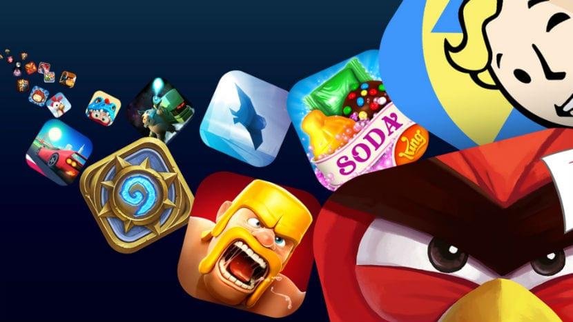 app store juegos