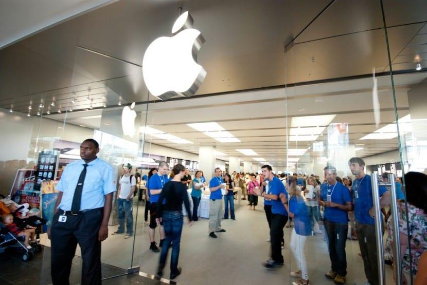 5 a o de la primera apple store en espa a - Maquinista centro comercial ...