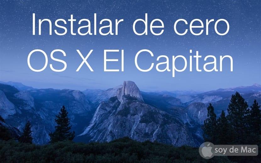Cómo instalar de cero OS X El Capitan