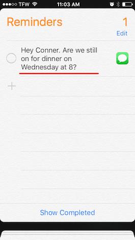 Cómo crear recordatorios conceptuales con Siri en iOS 9