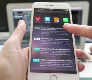 Cómo quitar apps de la búsqueda de Spotlight en iOS 9