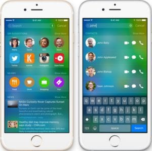 Cómo utilizar el nuevo y mejorado Spotlight de iOS 9