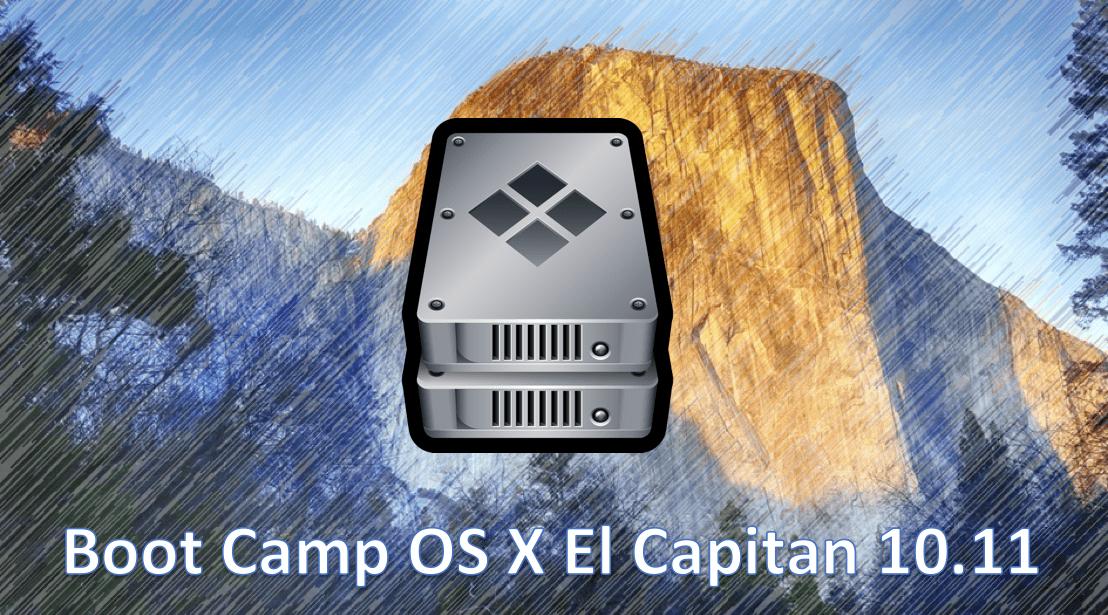 Instala Windows en OS X El Capitan sin memoria USB