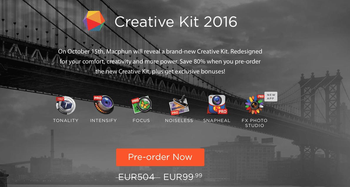 MacPhun lanza su Creative Kit 2016 para la app de Fotos